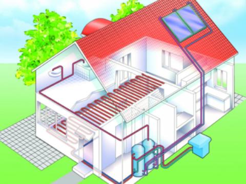 Солнечная система частного дома